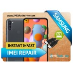 SAMSUNG A11 A115 REMOTE BAD IMEI BLACKLISTED REPAIR FIX INSTANT