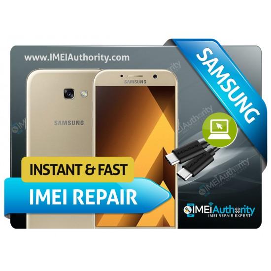 SAMSUNG GALAXY A7 A720F  REMOTE BAD IMEI BLACKLISTED REPAIR FIX INSTANT