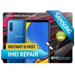 SAMSUNG GALAXY A7 A730F / A730W8  REMOTE BAD IMEI BLACKLISTED REPAIR FIX INSTANT