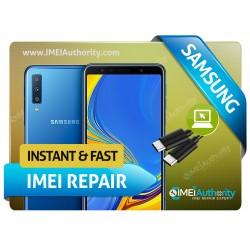 SAMSUNG GALAXY A7 SM-A750G A750G/DS REMOTE BAD IMEI BLACKLISTED REPAIR FIX INSTANT