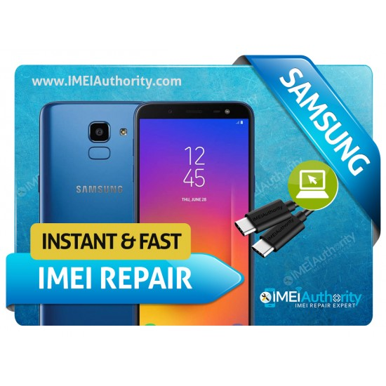 SAMSUNG GALAXY J6 J610 REMOTE BAD IMEI BLACKLISTED REPAIR FIX INSTANT