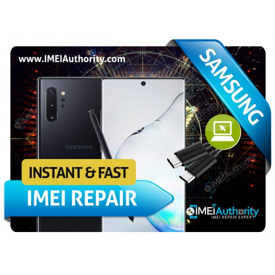 SAMSUNG NOTE 10 NOTE 10+ REMOTE BAD IMEI BLACKLISTED REPAIR FIX INSTANT