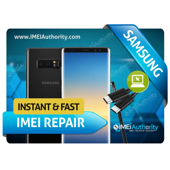 SAMSUNG NOTE 8 N950 REMOTE BAD IMEI BLACKLISTED REPAIR FIX INSTANT