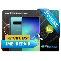 SAMSUNG GALAXY S10 S10+ S10E S10 5G REMOTE BAD BLACKLISTED IMEI REPAIR FIX