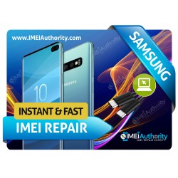 SAMSUNG GALAXY S10 S10+ S10E S10 5G EXYNOS REMOTE BAD BLACKLISTED IMEI REPAIR FIX