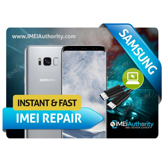 SAMSUNG GALAXY S8 S8 PLUS G950 G955 REMOTE BAD IMEI BLACKLISTED REPAIR FIX INSTANT