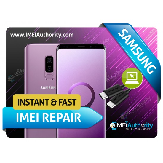 SAMSUNG GALAXY S9 S9+ G960 G965 REMOTE BAD IMEI BLACKLISTED REPAIR FIX INSTANT