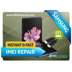 SAMSUNG GALAXY Z FLIP F700U REMOTE BAD IMEI BLACKLISTED REPAIR FIX INSTANT