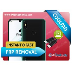 COOLPAD GOOGLE ACCOUNT FRP INSTANT REMOTE SERVICE