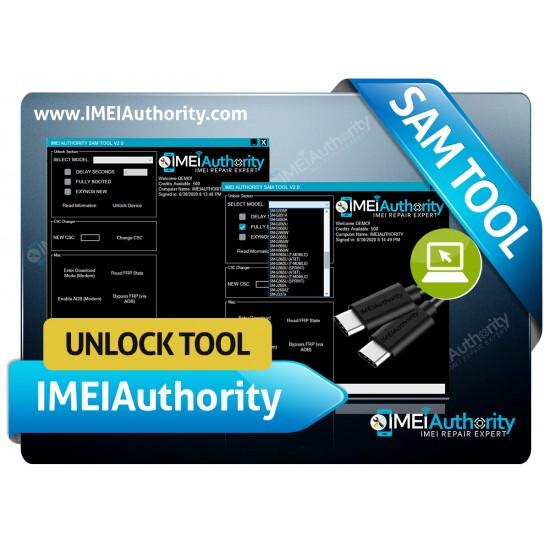 IMEI AUTHORITY  UNLOCK TOOL