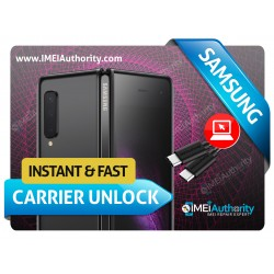 SAMSUNG GALAXY F900U FOLD INSTANT REMOTE CARRIER UNLOCK