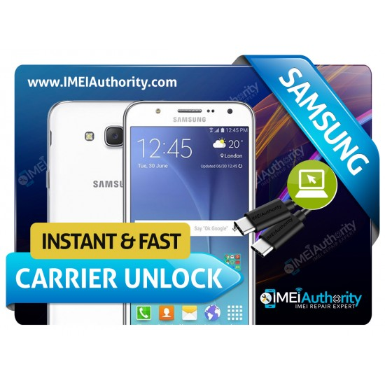 SAMSUNG GALAXY J700 REMOTE CARRIER UNLOCK