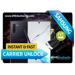 SAMSUNG NOTE 10 NOTE 10+ INSTANT REMOTE CARRIER UNLOCK