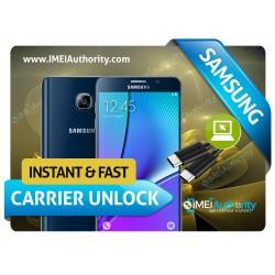 SAMSUNG NOTE 5 N920 REMOTE CARRIER UNLOCK