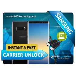 SAMSUNG NOTE 8 N950 T-MOBILE SPRINT CANADIAN INTERNATIONAL INSTANT REMOTE CARRIER UNLOCK