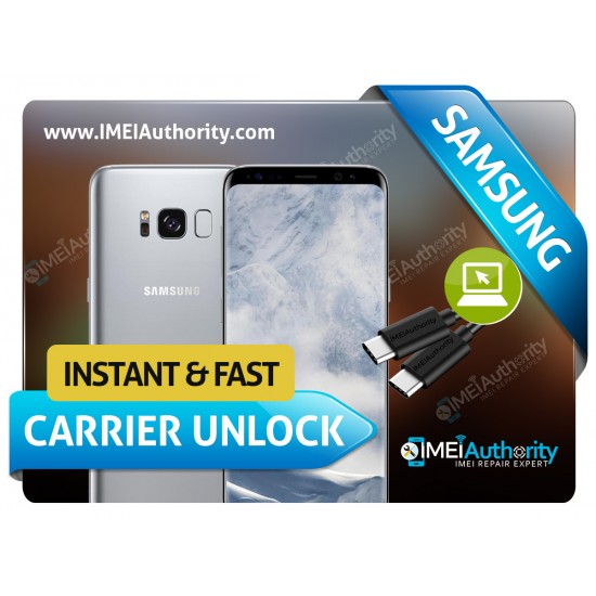 SAMSUNG GALAXY S8 ACTIVE G892A G892U INSTANT REMOTE CARRIER UNLOCK