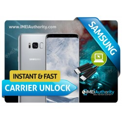 SAMSUNG GALAXY S8 S8 PLUS G950 G955 INSTANT REMOTE CARRIER UNLOCK