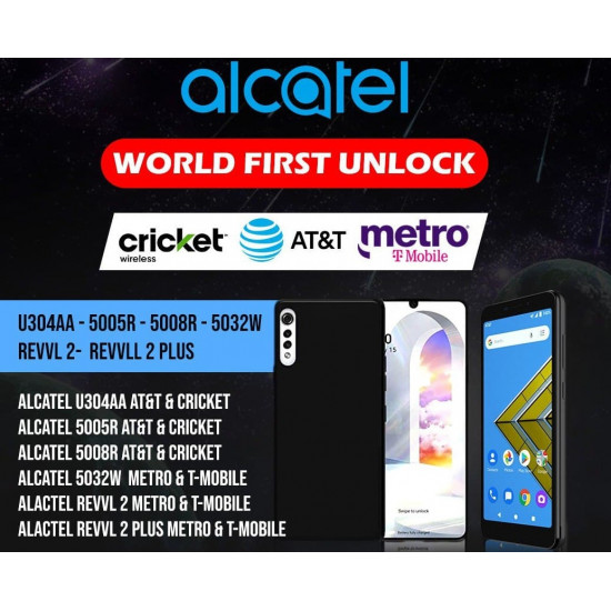 ALCATEL INSTANT REMOTE CARRIER UNLOCK